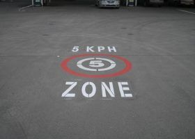 Safety Stencil Marking