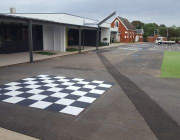 Outdoor-School-Playground-Chess-Board-Line-Marking