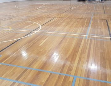 Indoor-Wooden-Sports-Court-Line-Marking