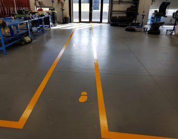 Workshop-Safety-Zone-Line-Marking