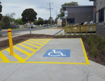 Disabled-Bay-Line-Marking-Melbourne