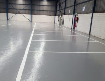 White-Epoxy-Floor-Line-Marking